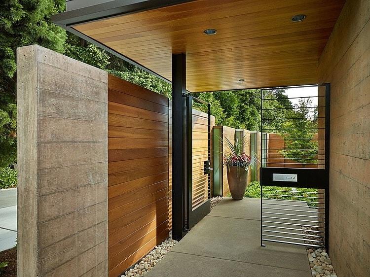 mẫu gỗ ốp tường đẹp
