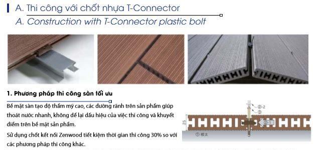 hướng dẫn thi công sàn gỗ nhựa