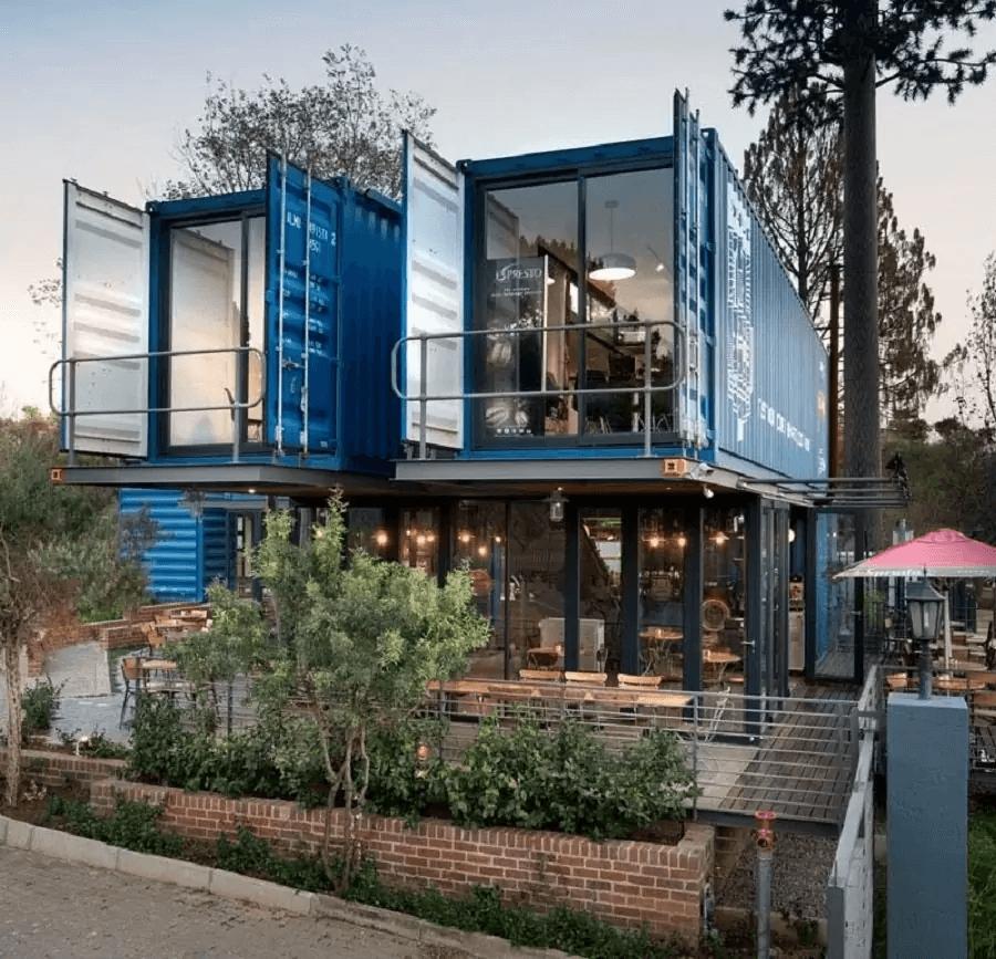 Nhà container đẹp dành cho quán cafe