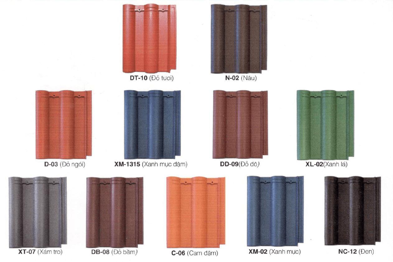 Ngói màu Nhật DIC